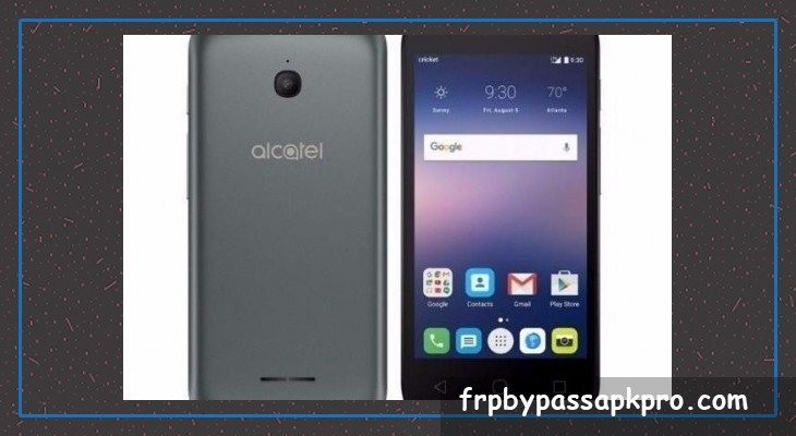 Bypass FRP on alcatel 4060a